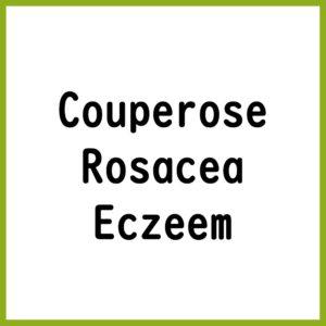 Couperose / Rosacea / Eczeem